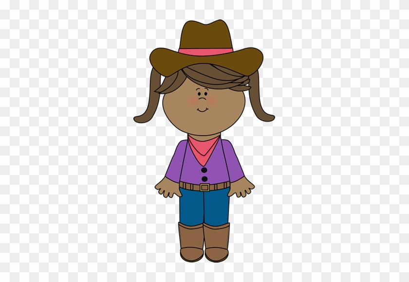 Cowgirl With Pigtails - Happy Father's Day Post #271568