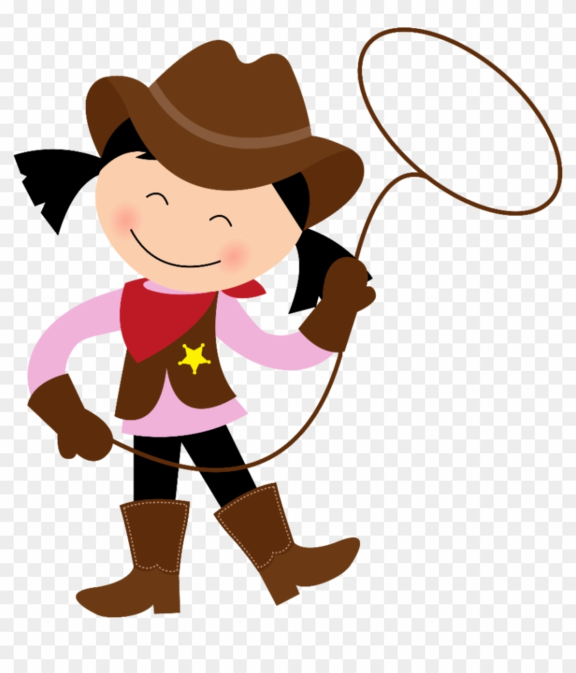Cowboy E Cowgirl - Cowboy And Cowgirl Clipart #271584