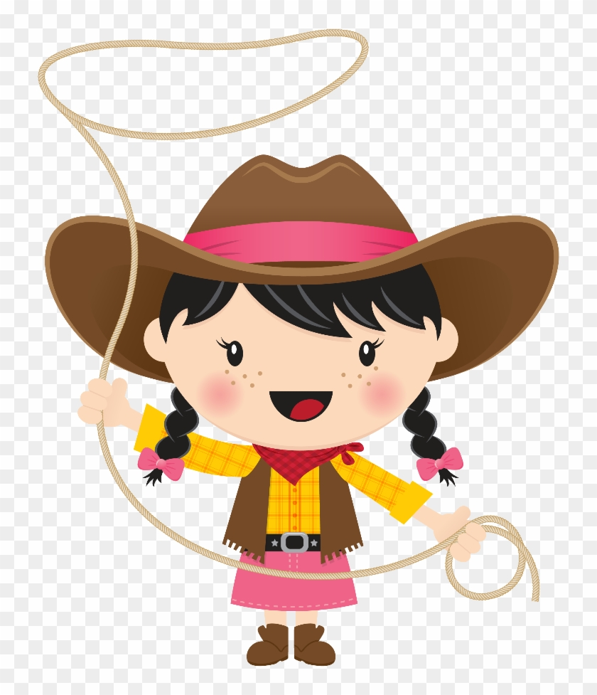 Related Cowboy And Cowgirl Clipart - Cowboy And Cowgirl Clipart #271628
