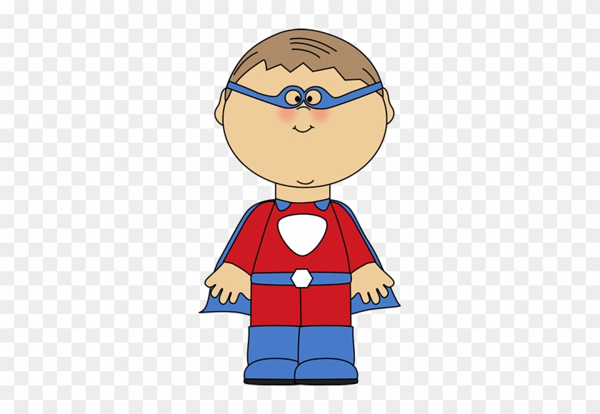 Little Boy Superhero Clipart - Worksheets Greater Than Less Than Equal #271685