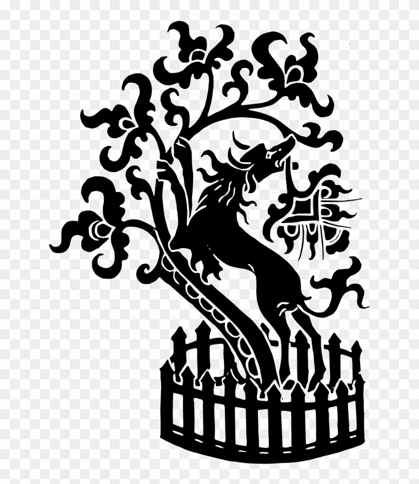 Olive Tree Clipart Tree Silhouette Medieval Free Transparent Png