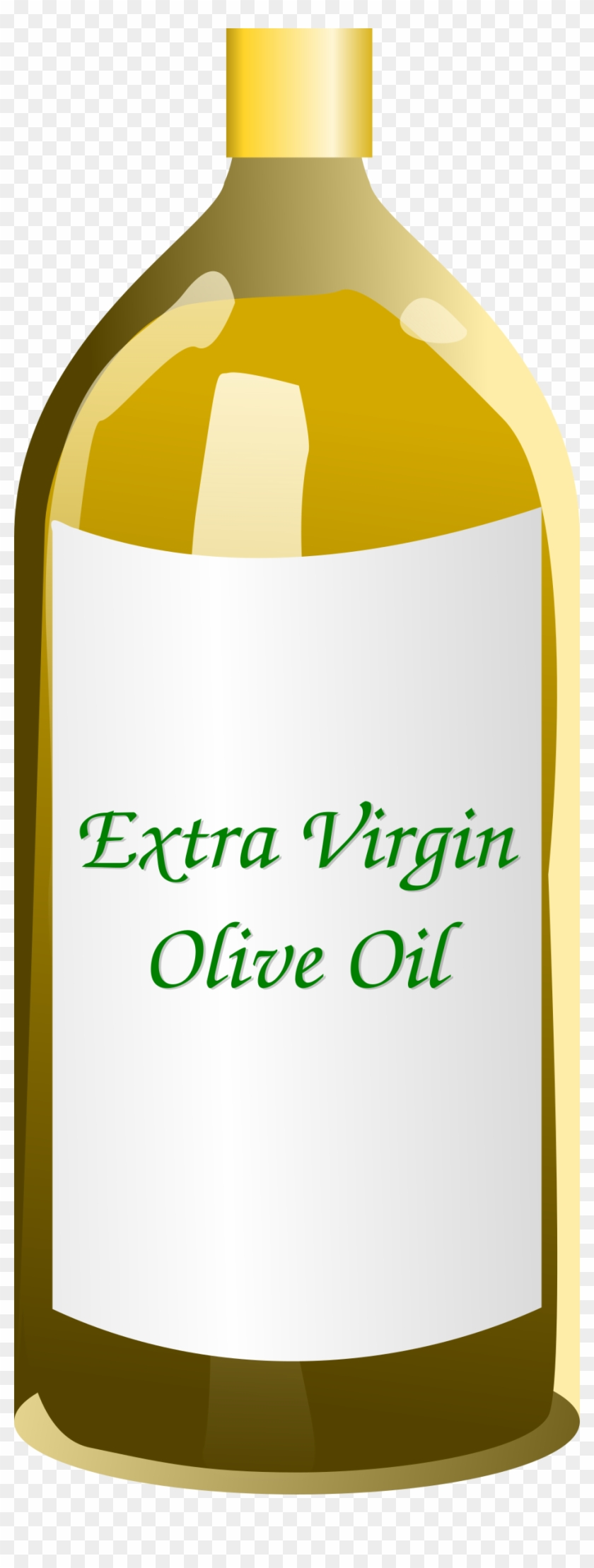 Clipart Extra Virgin Olive Oil Bottle - Clipart Olive Oil #271763