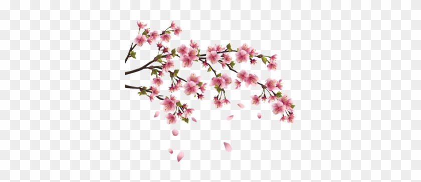 The Wall Decal Shop - Cherry Blossom Branch #271961