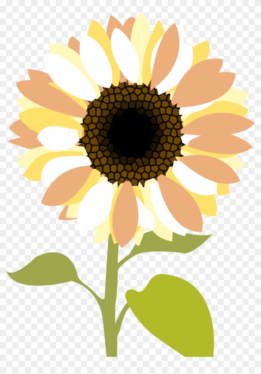 Sunflowers Clip Art Medium Size - Sunflower Wedding Clip Art #272052