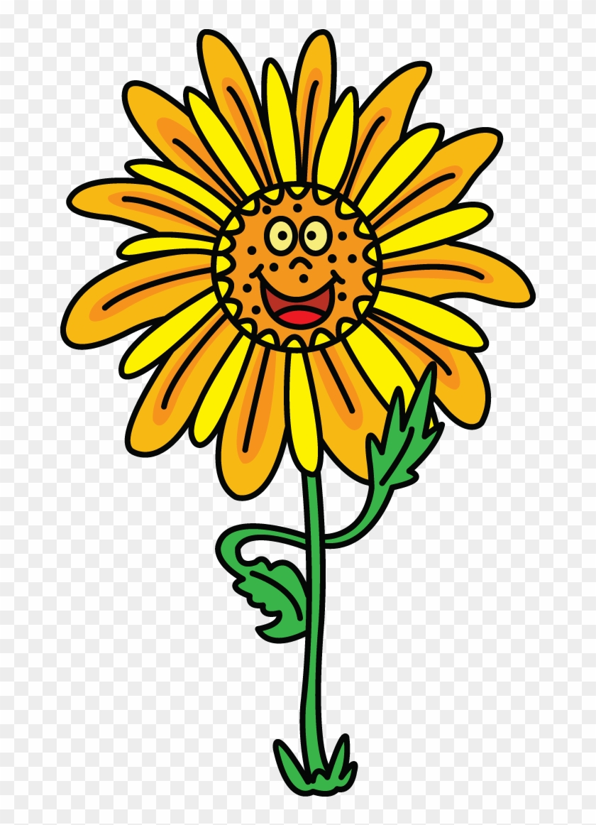 First Of A Whole New And Improved Style Of Drawing - Draw Sunflower #272091