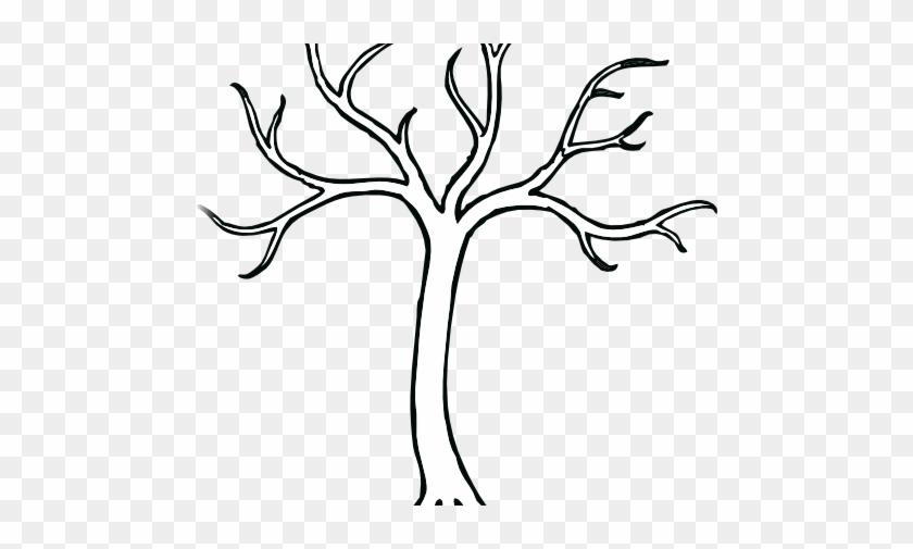 480 X 600 - Bare Tree Clip Art #272147