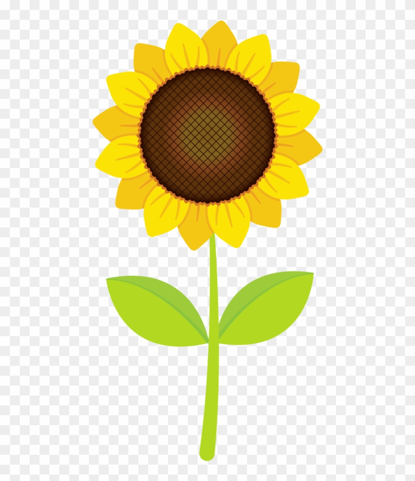 Sunshine Clipart Happy Sunflower - Clip Art Sun Flower #272301