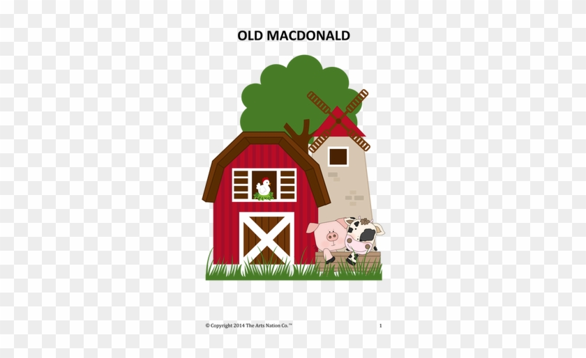 Personalized Farm Animals Melamine Plate #272505