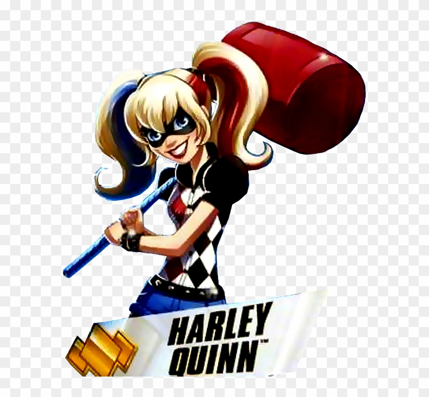 All About Monster High - Dc Super Hero Girls Harley #272531