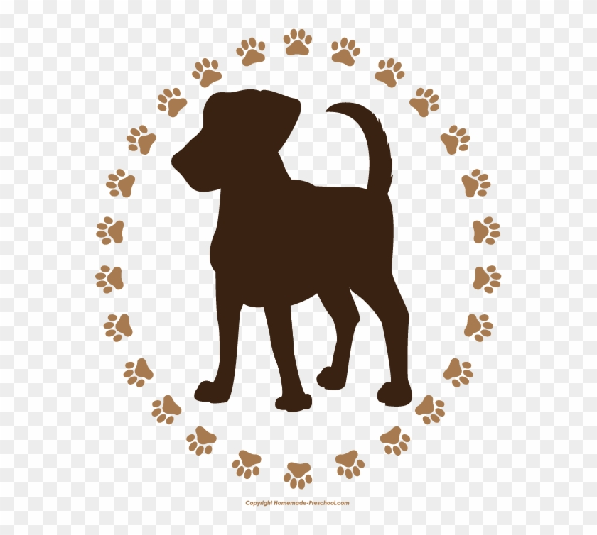 Click To Save Image - Paw Print Of Dog #272642