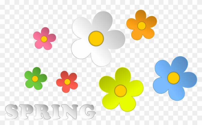 Clip Art Spring Flowers - Flowers Spring Clipart #272897