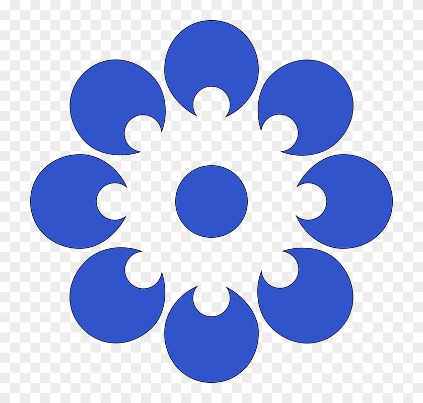 Blue Flower Clip 22, Buy Clip Art - Powerpoint Key Takeaways Slide #272990