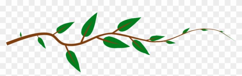 Free Vine Clipart 2, - Tree Branch Shower Curtain #273037