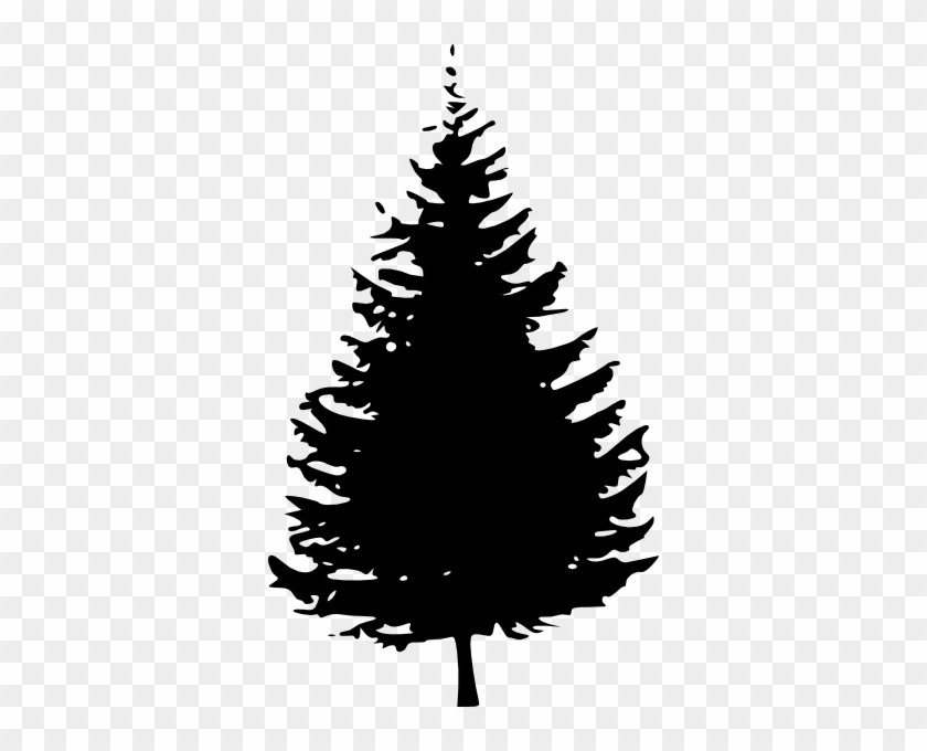 Black - And - White - Pine - Tree - Clipart - Black And White Pine Tree Clipart #273048