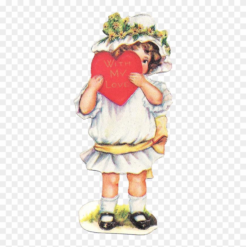 Free Vintage Valentine Graphic - Free Vintage Valentine Clip Art #273159