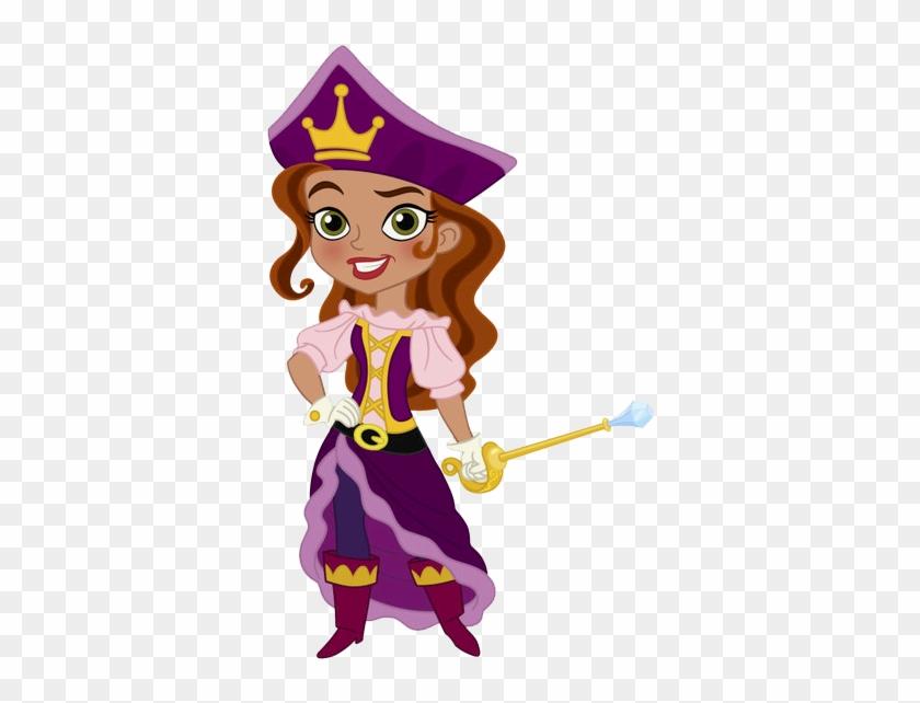 Pirate Clipart Pirate Princess - Jake And The Neverland Pirates Girls #273328