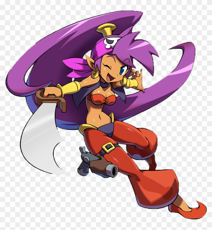 568kib, 991x1000, Pirate Shantae W Sword Render By - Shantae And The Pirate's Curse Png #273344
