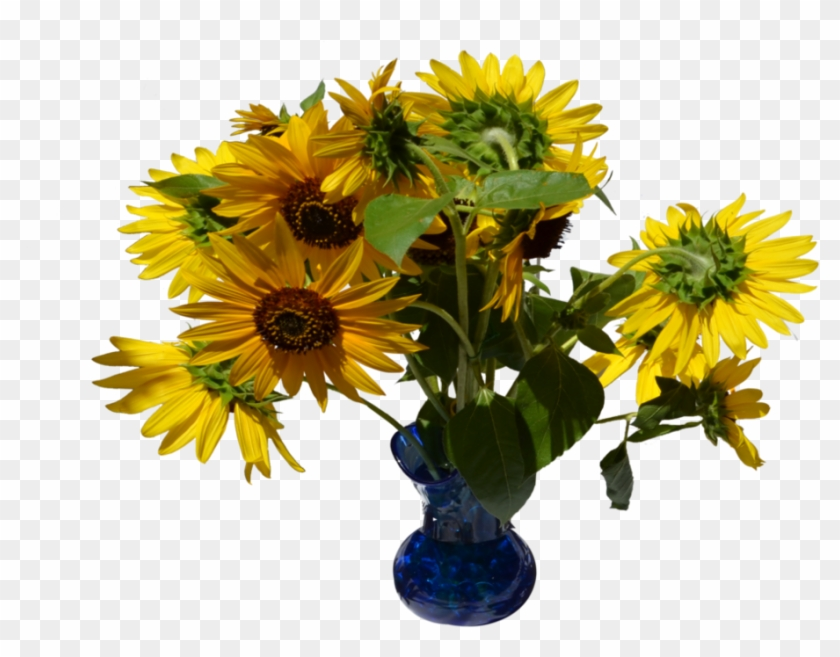 Sunflowers In Vase Png Stock 0320 By Annamae22 - Bouquet #273366