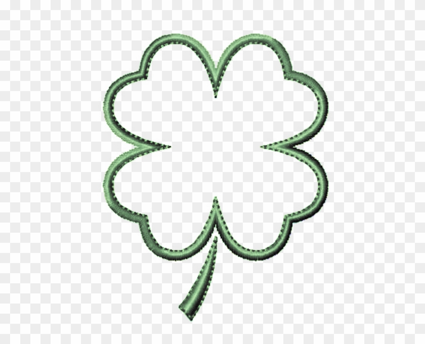 4 Leaf Clover Clipart Of Shamrocks And Four C Clipartix
