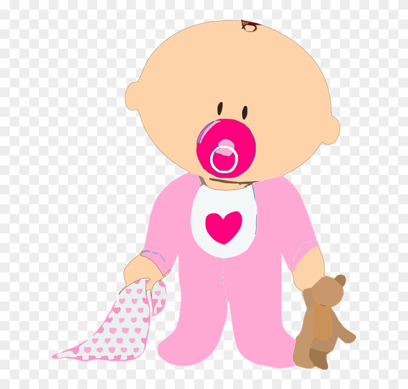 Baby Toy Clipart 2, Buy Clip Art - Clipart Baby Girl #274052