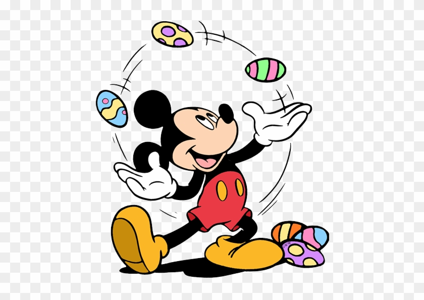 Disney Easter Clip Art Images Mickey Mouse Coloring Pages Free