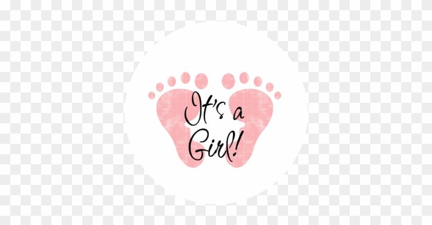Baby Girl Feet Clip Art - Girl Baby Shower Clip Art #274147