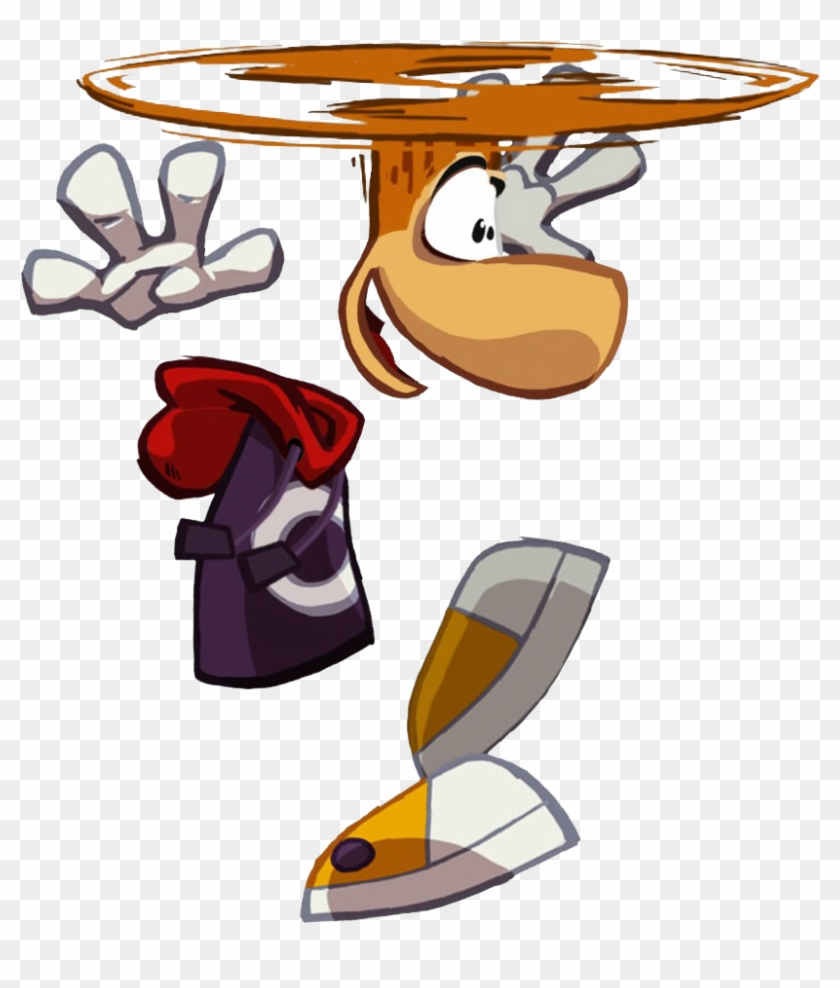 Of His Own Short Lived Animated Series In The Late - Rayman Origins Rayman #274203