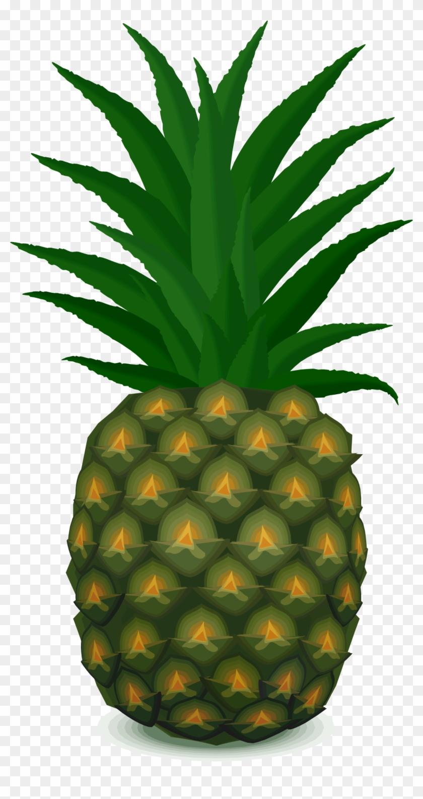 Big Image - Heart (love) Pineapple Throw Blanket #274271