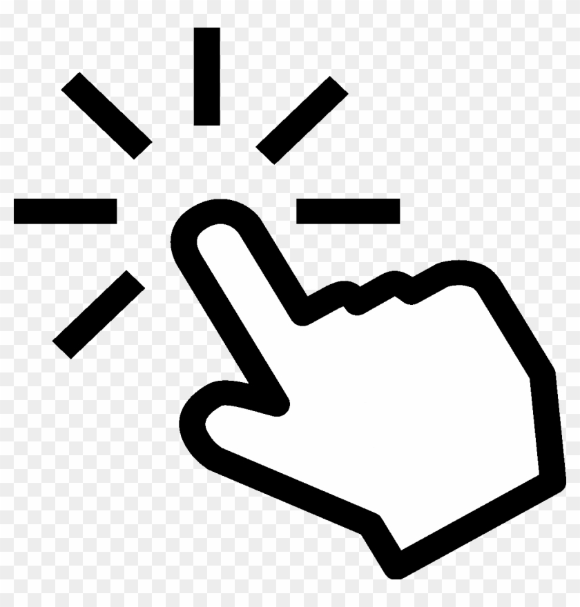 Computer Mouse Pointer Point And Click Clip Art - Click Png