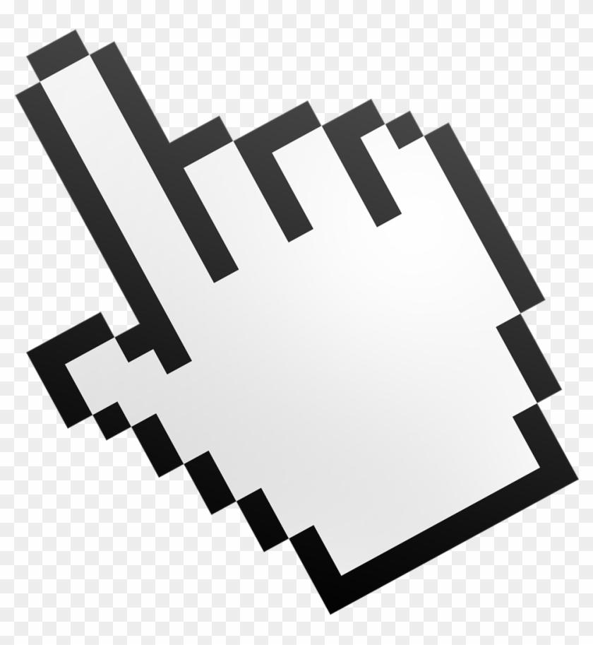 Computer Mouse Pointer Cursor Hand Clip Art - Hand Cursor Png #274368