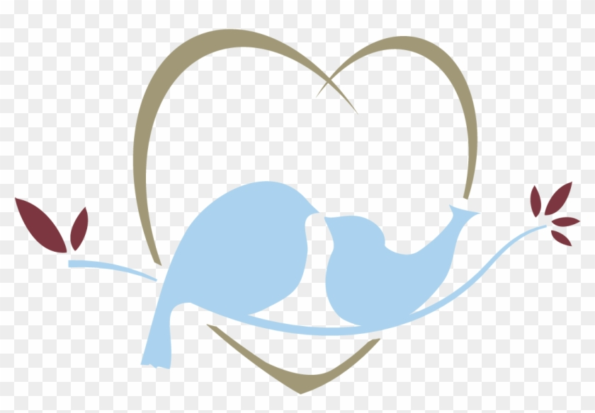 Lovebirds Clipart Png Image - Love Birds Png #274618