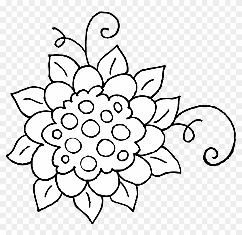 Coloring page flower indiantribes clipart spring flowers black and coloring page flower indiantribes clipart spring flowers black and white mightylinksfo