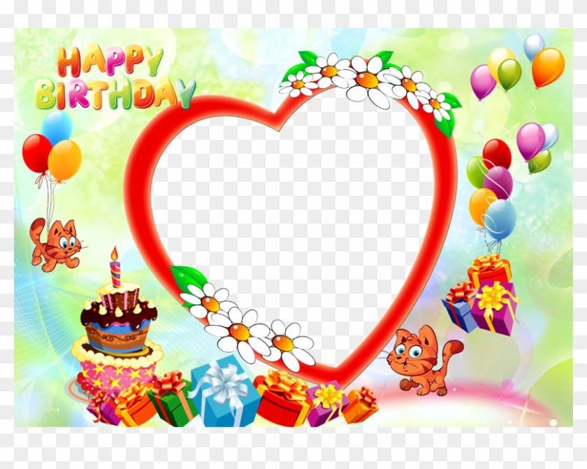 Happy Birthday Images With Photo Frame Happy Birthday Happy