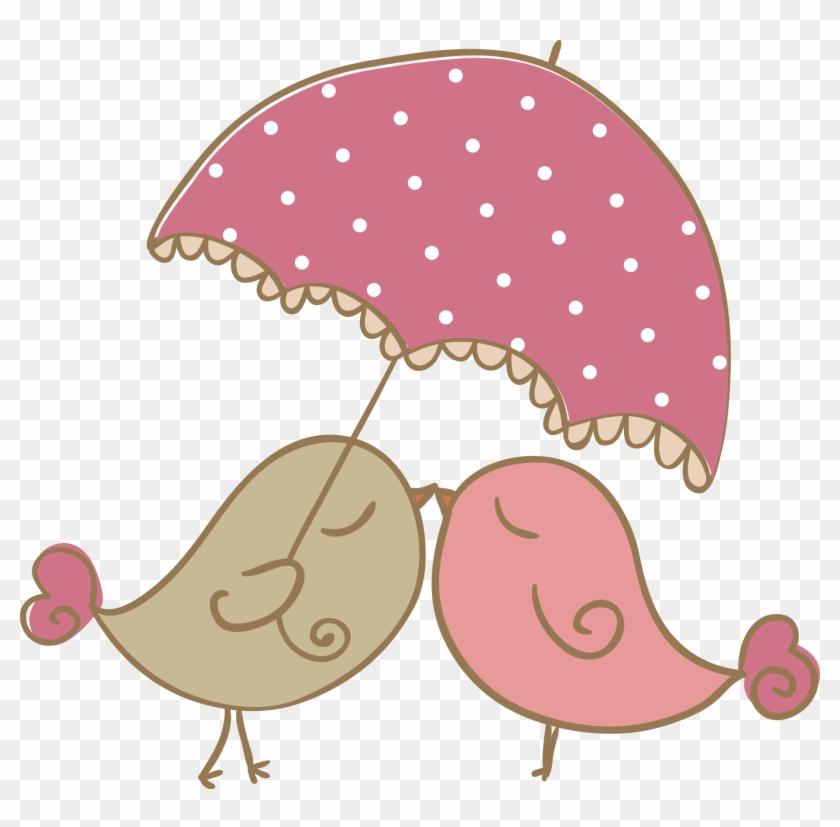 Lovebird Cartoon Clip Art - Birds In Love Cartoon #274837