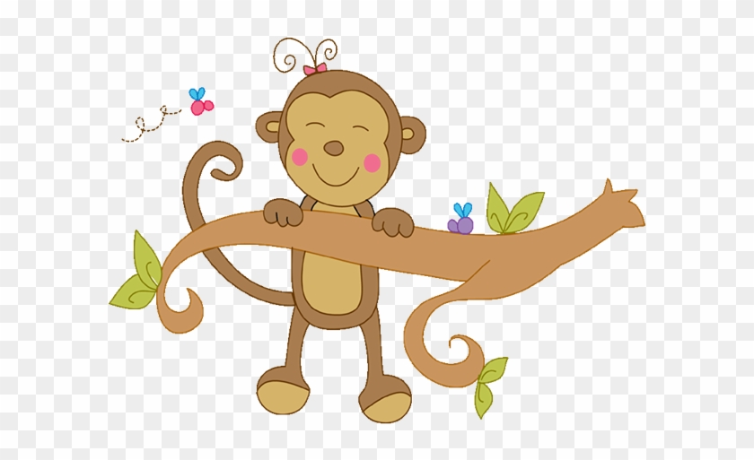 Baby Girl Png Images - Cute Monkey Clip Art #274958