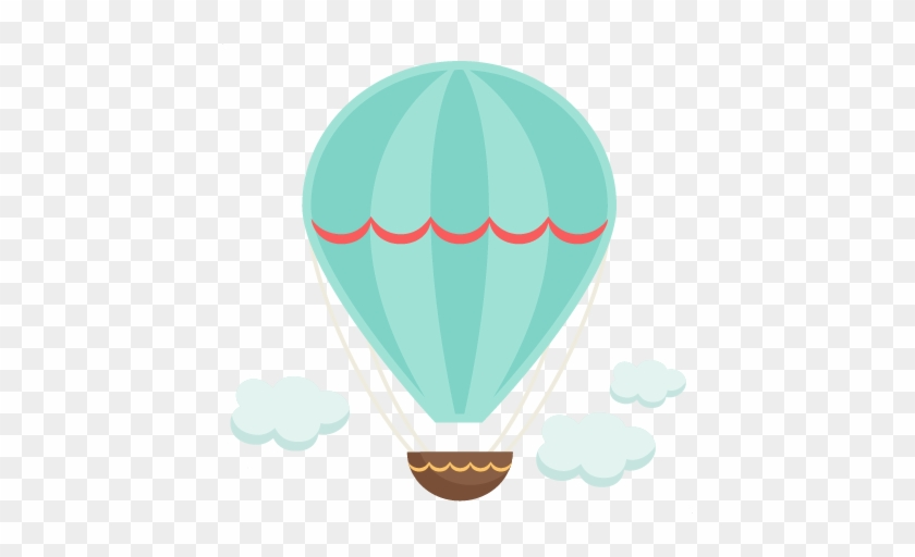 Vintage Hot Air Balloon Svg Cutting File For Scrapbooking Balao