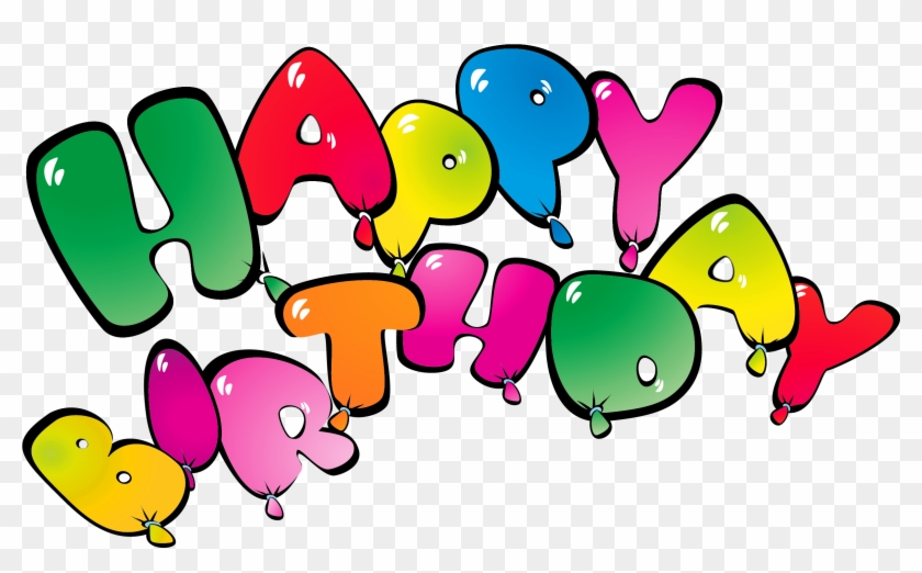Transparent Happy Birthay Balloons Png Clipart Picture - Happy Birthday Balloons Png Transparent Background #275153