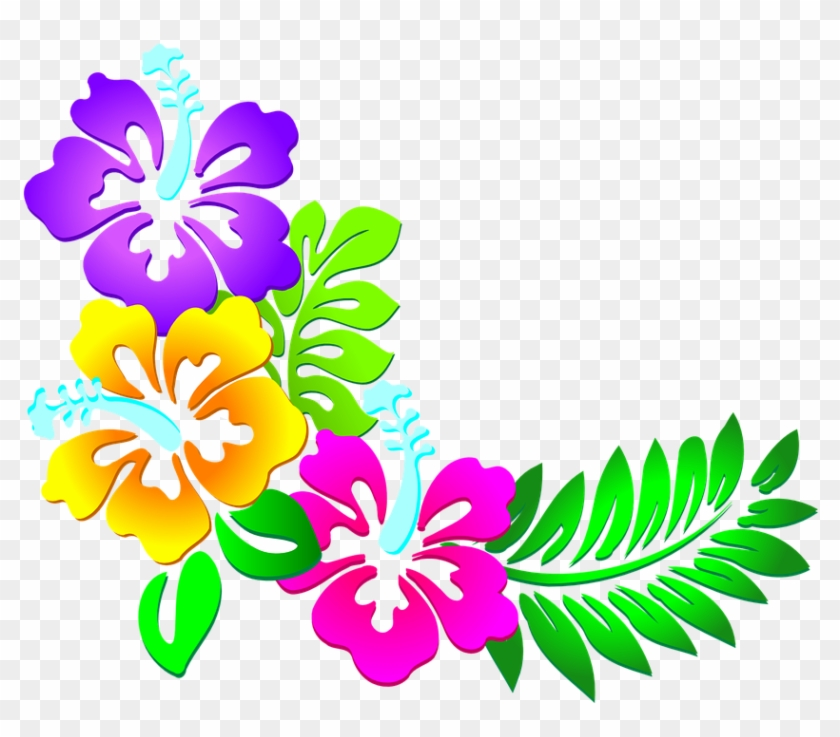 Free Spring Flower Border Clip Art Flowers Healthy