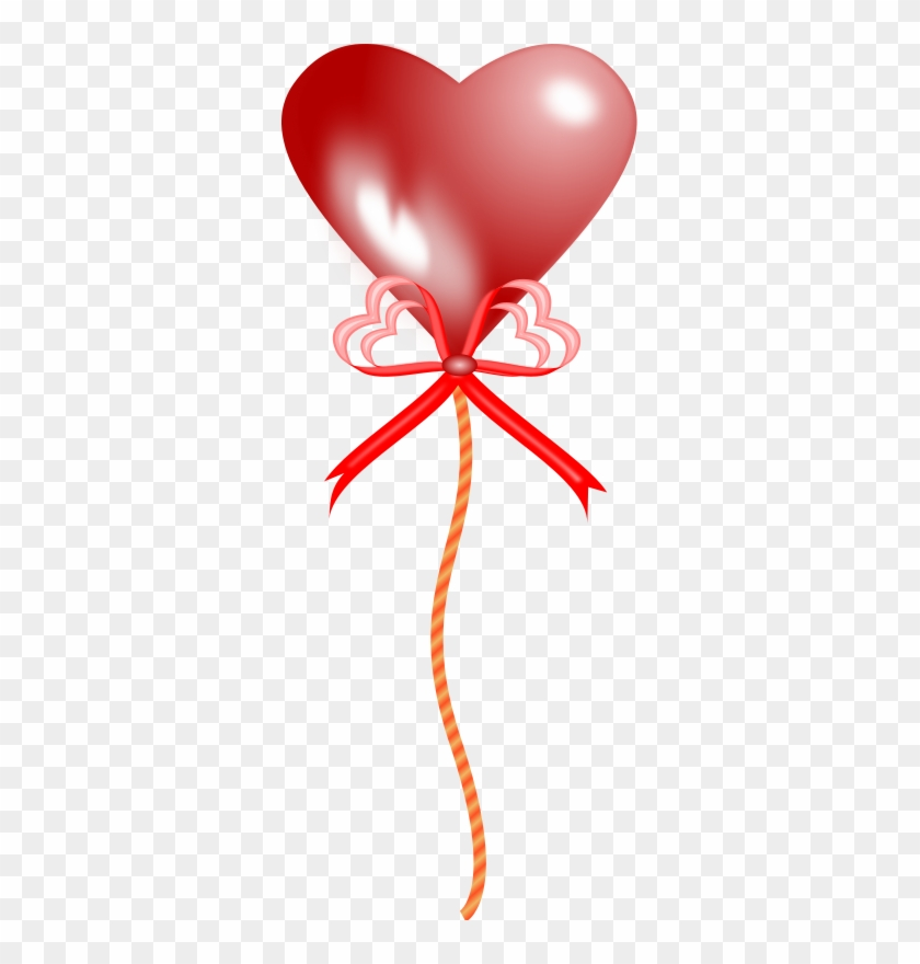 Heart Shaped Balloon - Heart Shape Balloon Transparent Background #275291