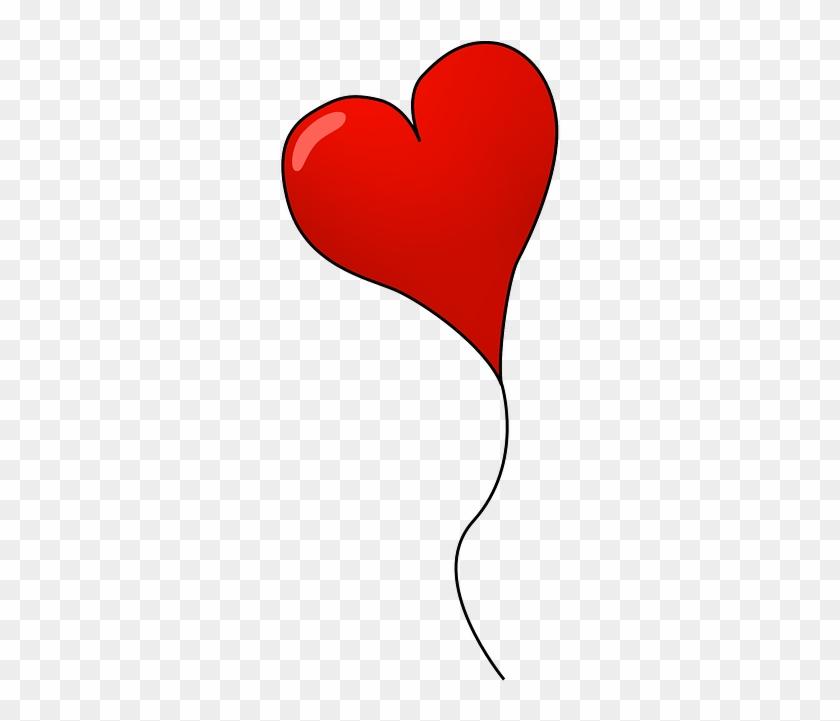 Clip Art - Heart Balloon Image Png Transparent #275351
