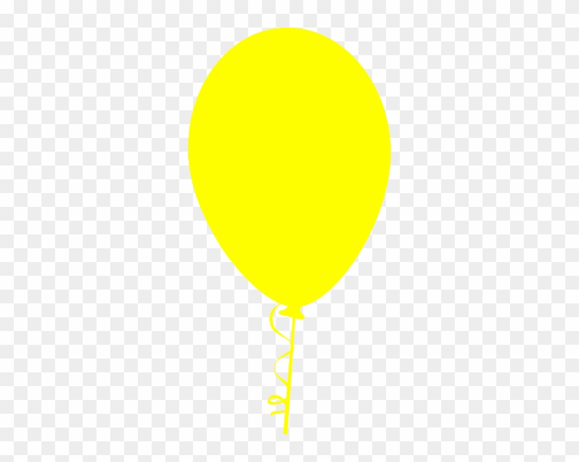 Free Yellow Balloon Cliparts, Download Free Clip Art, - Yellow Balloons Vector Png #275375