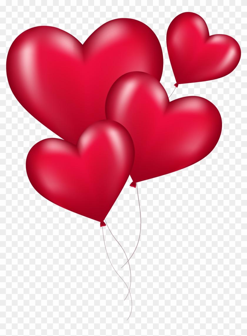 Heart Balloons Png #275556