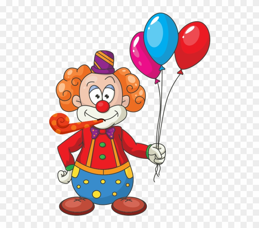 Centerpieces, Balloons, Banners, Play Areas, Custom - Cartoon With Balloons Png #275663