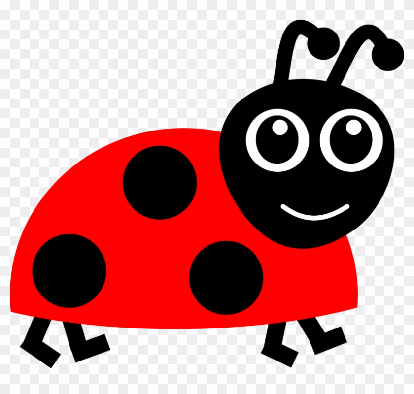 Flying Ladybug Cliparts - Cartoon Lady Bug - Free Transparent PNG Clipart  Images Download