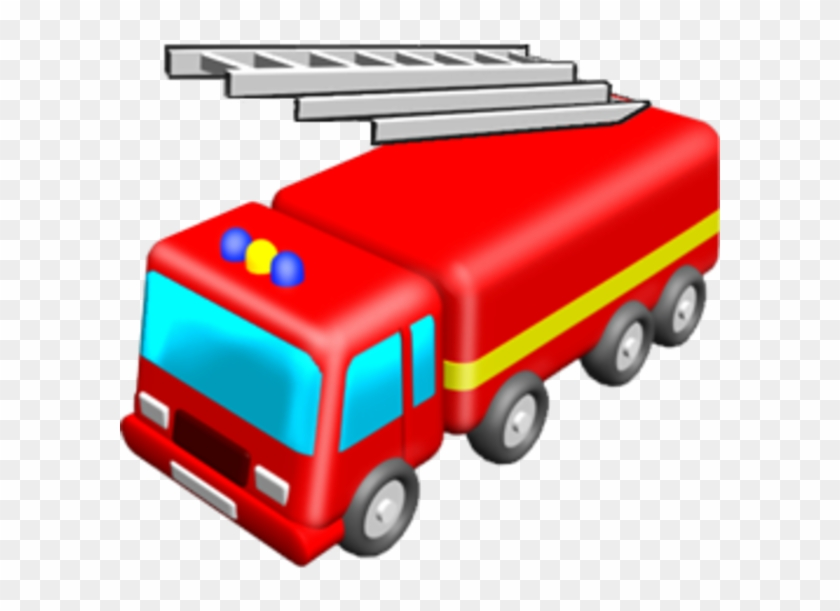 Fire Engine Free Images At Clker - Toy Fire Truck Clipart #275715