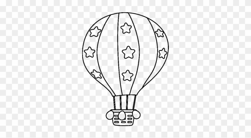 Coloriage Montgolfiere A Imprimer Free Transparent Png Clipart