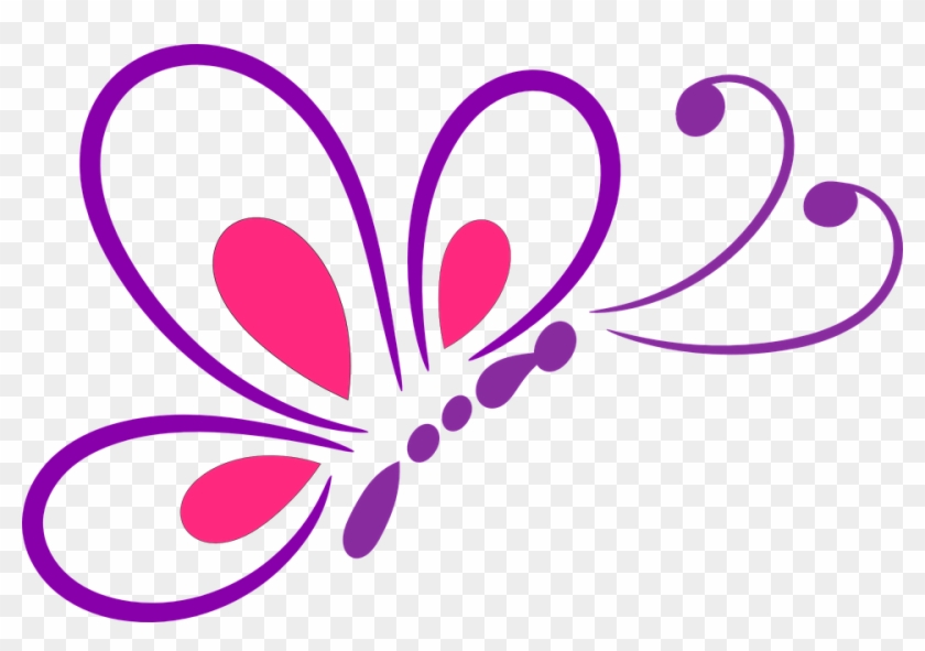 Tulip Outline Cliparts 8, Buy Clip Art - Butterfly Line Art Png #275792