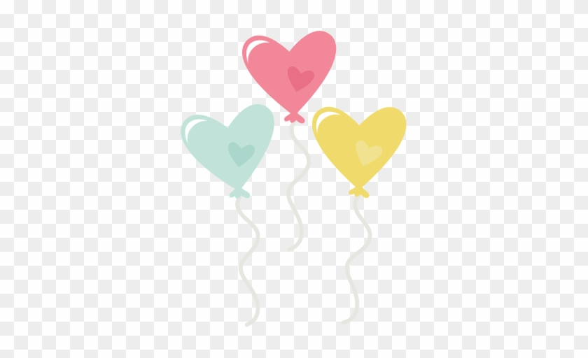 Heart Balloons Png Free Download - Cute Heart Balloons Png #275803