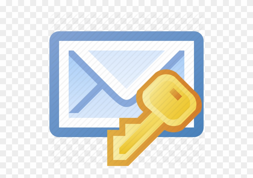 Secure Email Icon - Email Lock Icon #276102