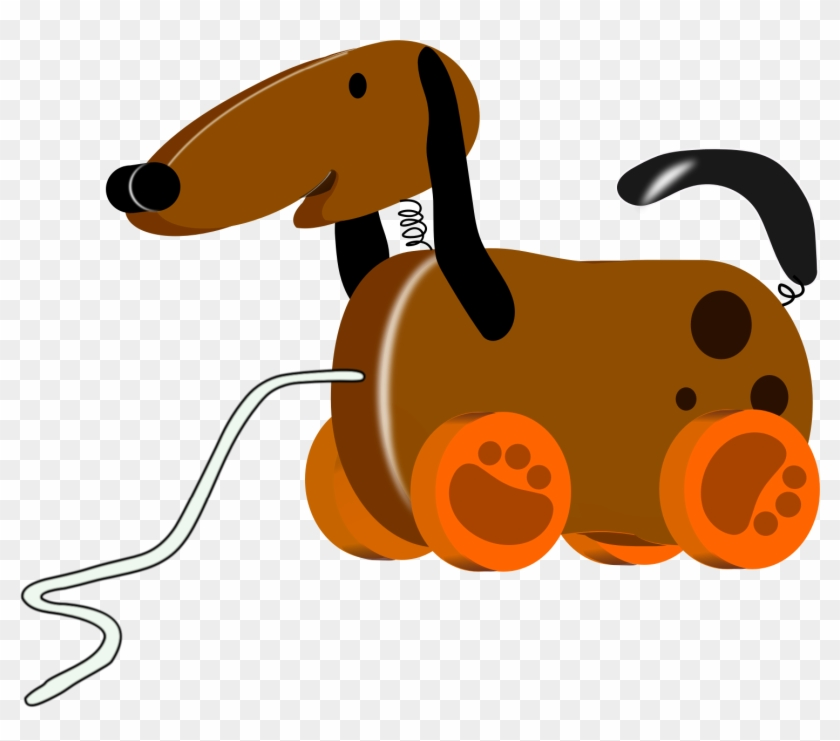 Dog Toy Clip Art - Toy Dog Clipart #276121